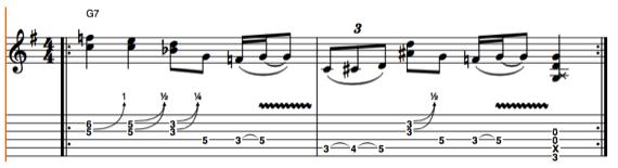Фразы для электрогитары от Джо Уолша