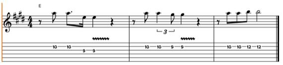 Урок по созданию мелодии для гитары