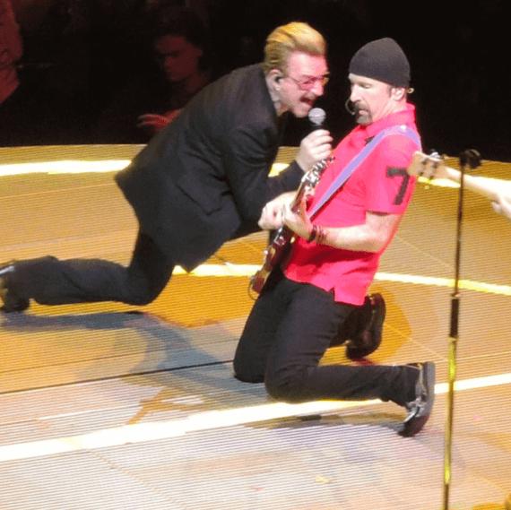 Выступление группы U2