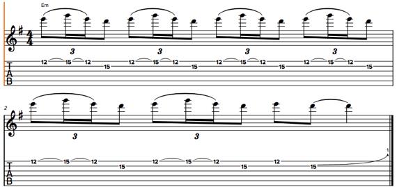 Крутые соло-фразы для электрогитары