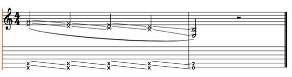 Как играть скрэтч на электрогитары