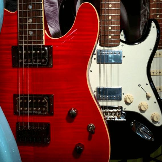 Гитара с двумя хамбакерами H-H