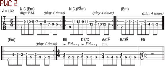 Метал риффы для гитары в необычных размерах