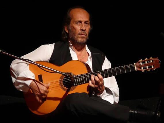 Посадка гитариста фламенко