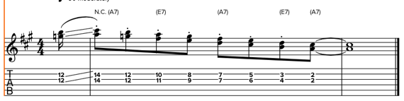 Дабл-стопы на гитаре
