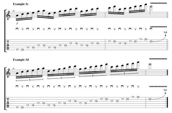 Упражнения гитары от Зака Уайлда