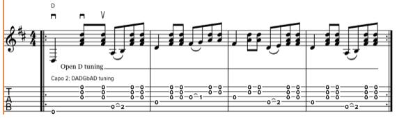 Мелодии Донована ноты и табы