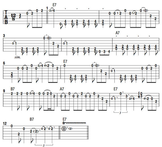 Уроки Фредди Кинга на гитаре