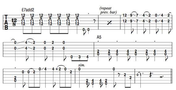 Блюзовые фразы Фредди Кинга на гитаре