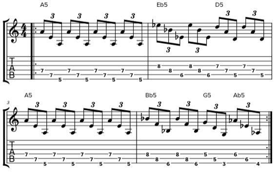 Гибридная техника звукоизвлечения на гитаре