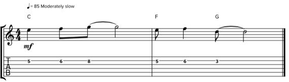 Определяем ступени для мелодии