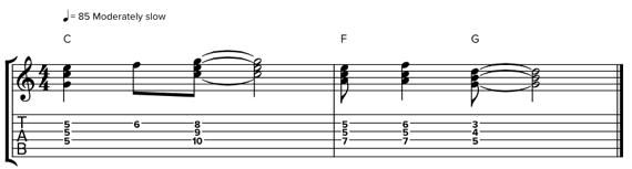 Гармонизация гитарной мелодии