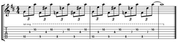 Фразы с хроматическими нотыми