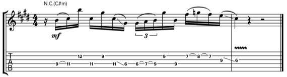 Игра через струну