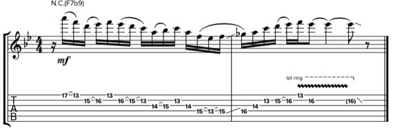 Гитарный шред техникой гибридного звукоизвлечения