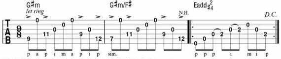 Сложные мелодии на акустической гитары