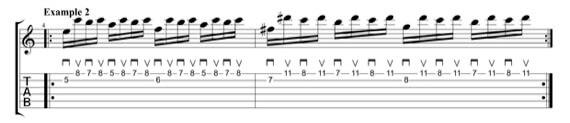 Риффы и мелодии в стиле неоклассик метал