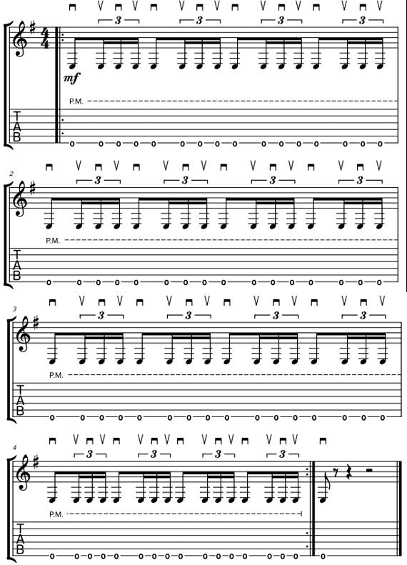 Ритмы треш с триолями