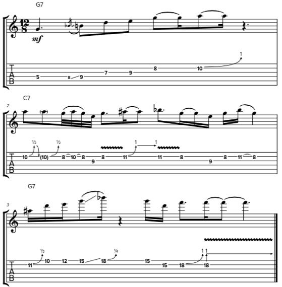 Имитация бас-гитаре на электрогитаре