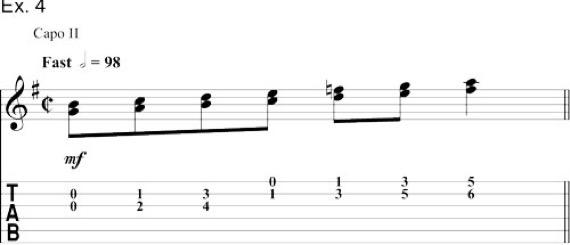 Гармонизация гаммы терциями