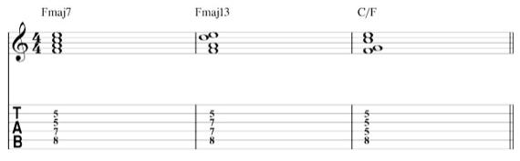 диссонантные аккорды для электрогитары