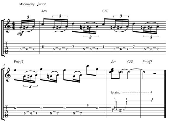 Слушать и играть на гитаре соло Джимми Пейджа