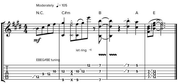 Как использовать слайд при игре на гитаре