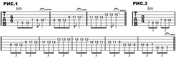 Фразы для гитары