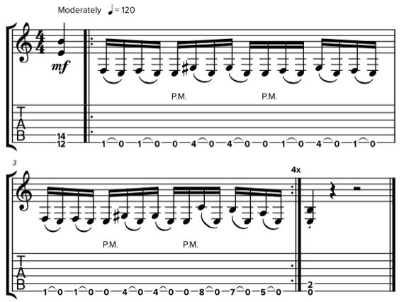 Шестнадцатые ноты в разных размерах