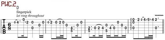 Ноты кельтских мелодий для гитары