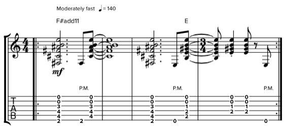 Аккорды Алекса Лайфсона для гитары
