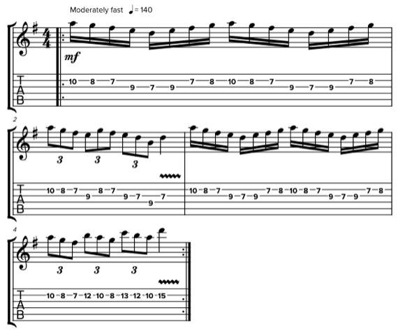 Необычные соло на гитаре Алекса Лайфсона