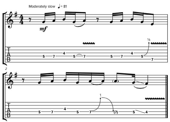 Блюзовые фразы и мелодии