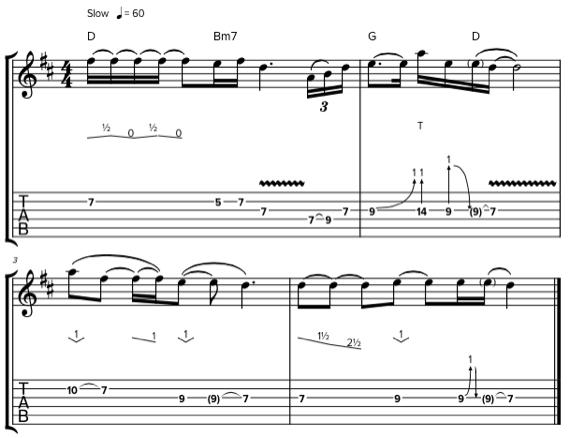 Табулатуры и ноты Джеффа Бека для гитары
