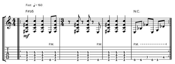 Интересные метал риффы для гитары