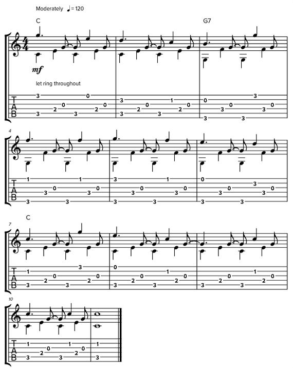 Ноты и табы Freight Train для акустической гитары