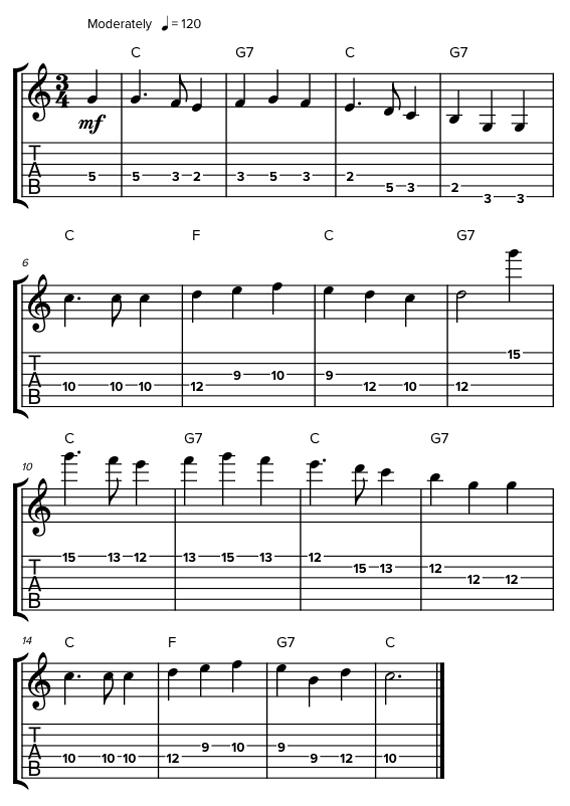 Как правильно прыгать по октавам на гитаре