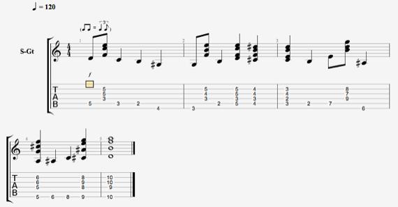 Что такое шагающий бас на гитаре