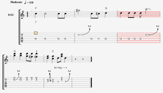 Урок гитары на чистом звуке