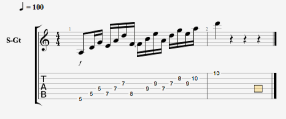 Интересные упражнения для гитары