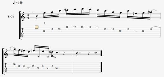 Гитарные запилы на гитаре
