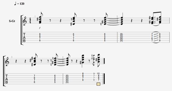 Джазовые аккорды и ритм