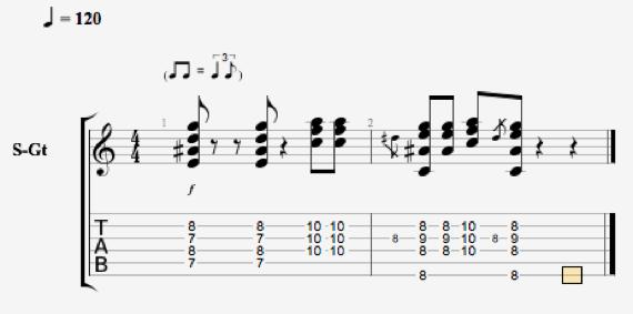 Блюзовые риффы и ритмы на гитаре