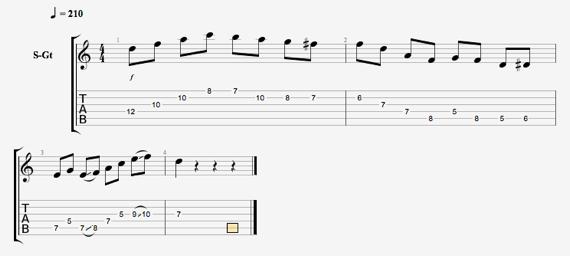 Как играть миксолидийски лад на гитаре