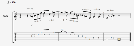 Клевые фразы для гитары в стиле блюз