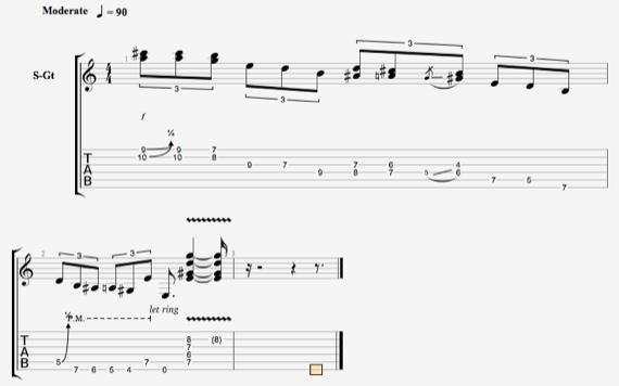 Блюзовая мелодия для гитары