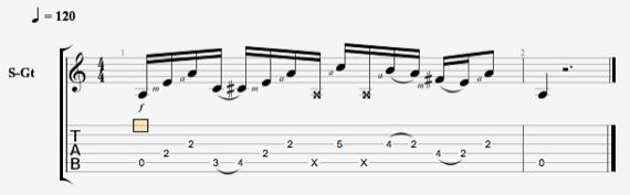 Как играть чикен-пикинг на гитаре