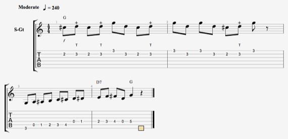 Ноты кантри гитара скачать