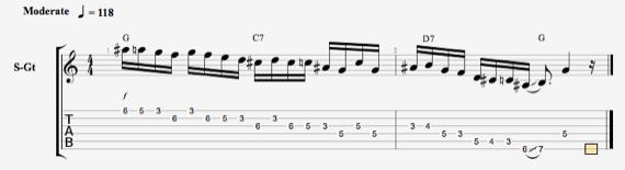 Разминки для пальцев гитариста