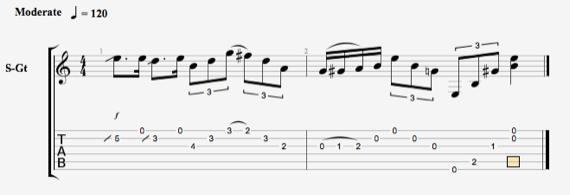 блюзовые ноты